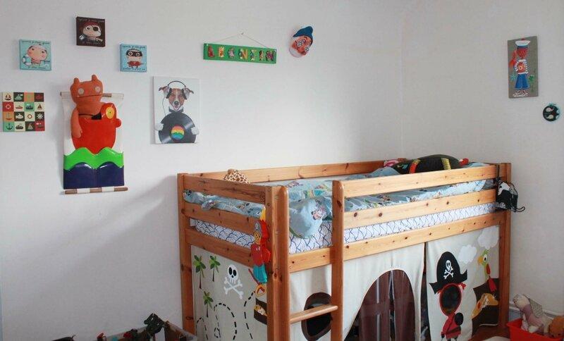 La chambre du petit boy