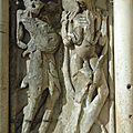 La luxure représentée avec deux serpents tétant chaque sein