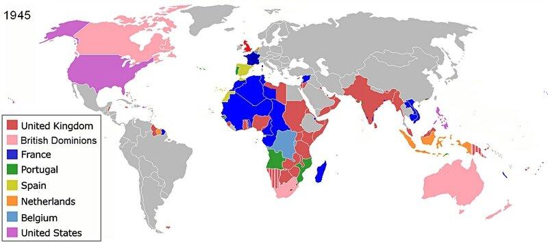 1945-les empires coloniaux