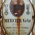 Mercier victor (chassignolles) + 14/05/1916 vauquois (55)