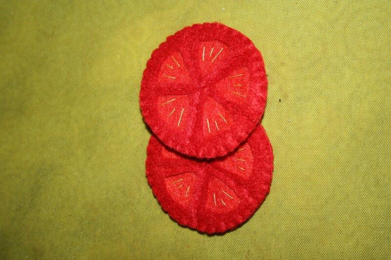 Rondelles de tomates