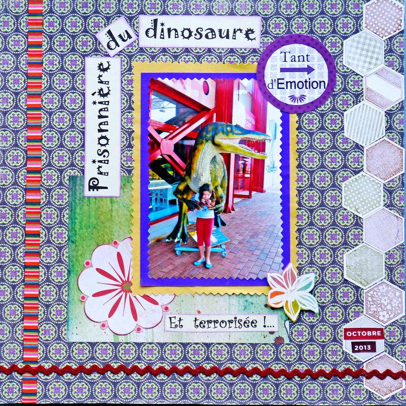 prisonnière du dinosaure