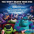 [critique ciné] monstres academy