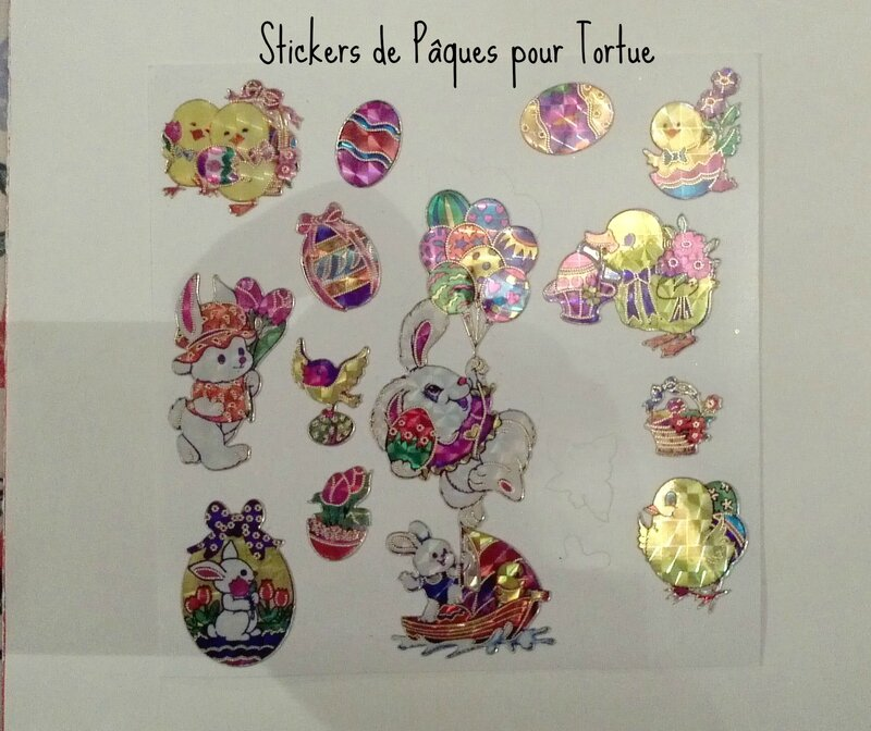 Stickers pour Tortue