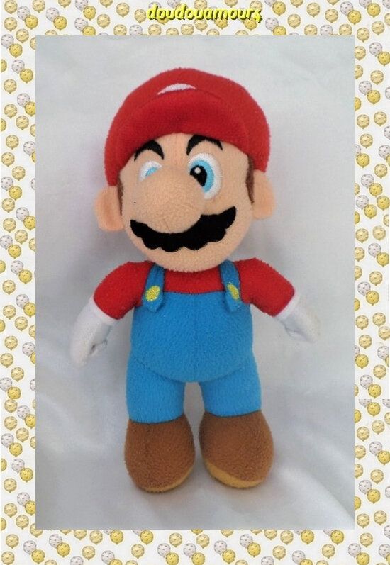 Peluche Doudou Super Mario Bross Nintendo