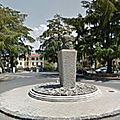Rond-point à cosenza (italie)
