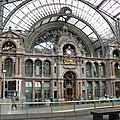 Anvers Central (Belgique) intérieur