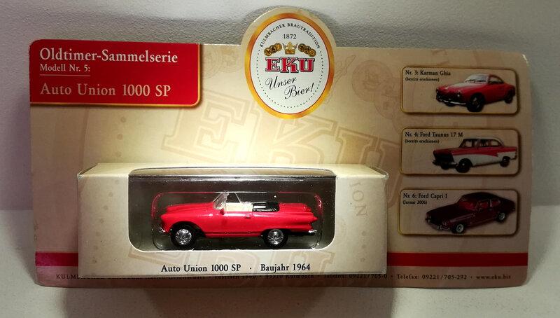 Auto Union 1000 SP de 1964 (Grell)