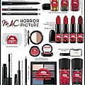 Collection maquillage - the rocky horror picture show - m.a.c