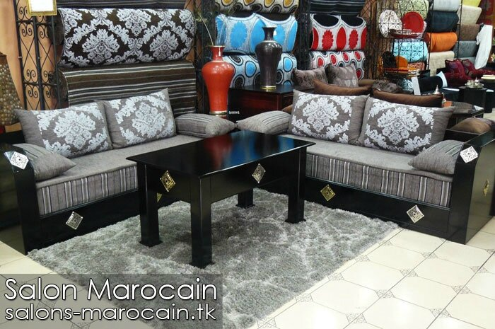salon marocain moderne de haute gamme salon marocain moderne. Black Bedroom Furniture Sets. Home Design Ideas