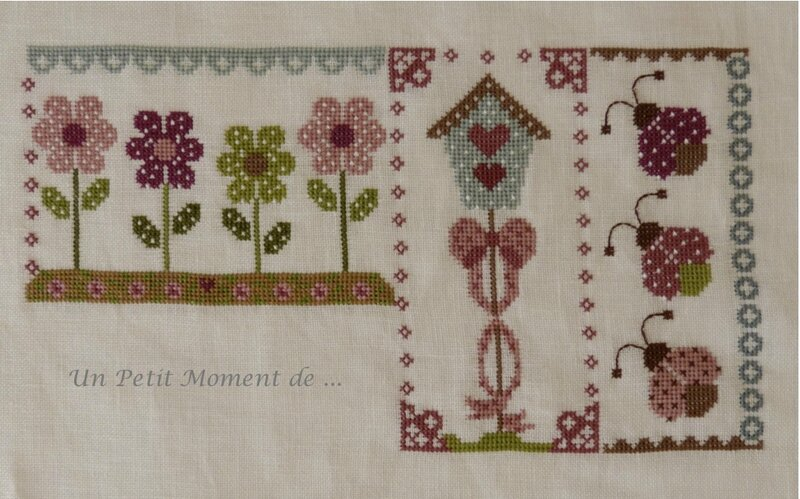 SAL Spring in quilt 4