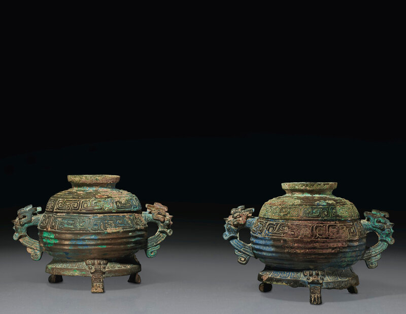 2020_NYR_18823_1509_000(a_pair_of_bronze_ritual_food_vessels_and_covers_gui_late_western_zhou092010)