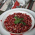 Salade de grenade à la marocaine et comment choisir une grenade