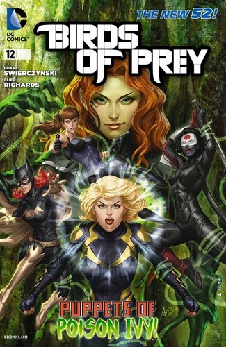 new 52 birds of prey 12