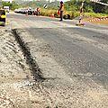 Projet de réhabilitation de la route yaoundé bafoussam. les travaux sont en phase d'avant-projet de démarrage.