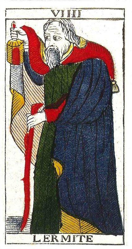ecole de tarot l'hermite carte