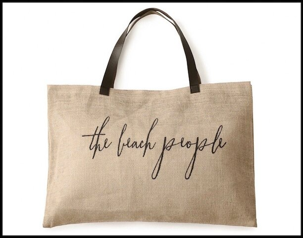 the beach people sac jute
