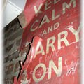 Keep calm and carry on...70's birthday...union jack collector...