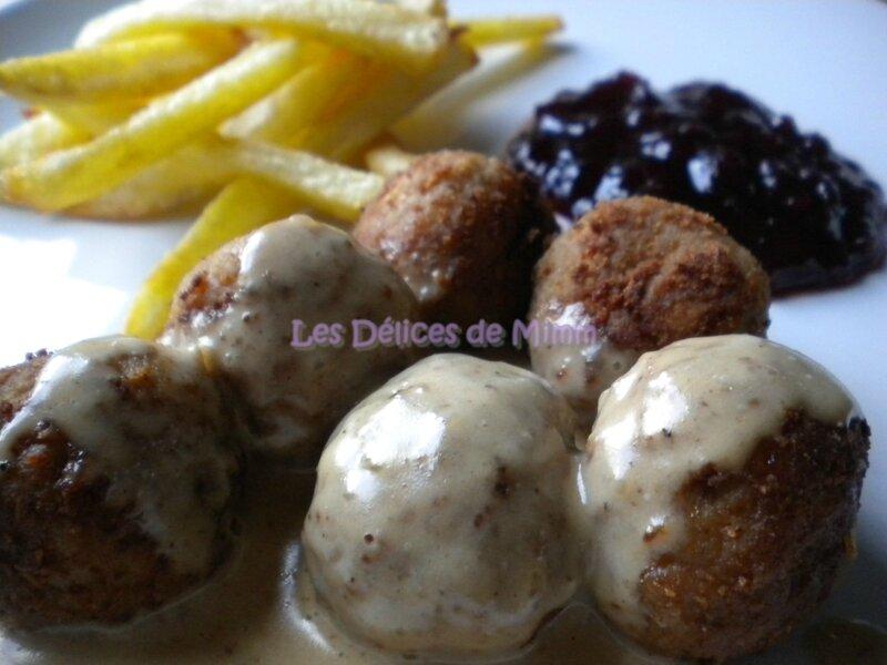 Boulettes de viande à la suédoise, sauce à la crème comme chez Ikea 5
