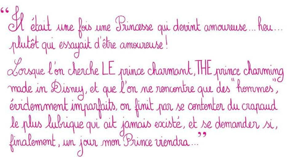 Citation Amour Film Disney