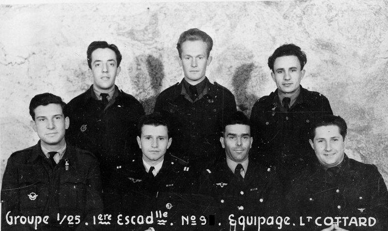 équipage du lieutenant COTTARD