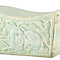 A Qingbai pillow, Song dynasty (960-1279)