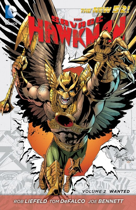 savage hawkman vol 2 wanted TP