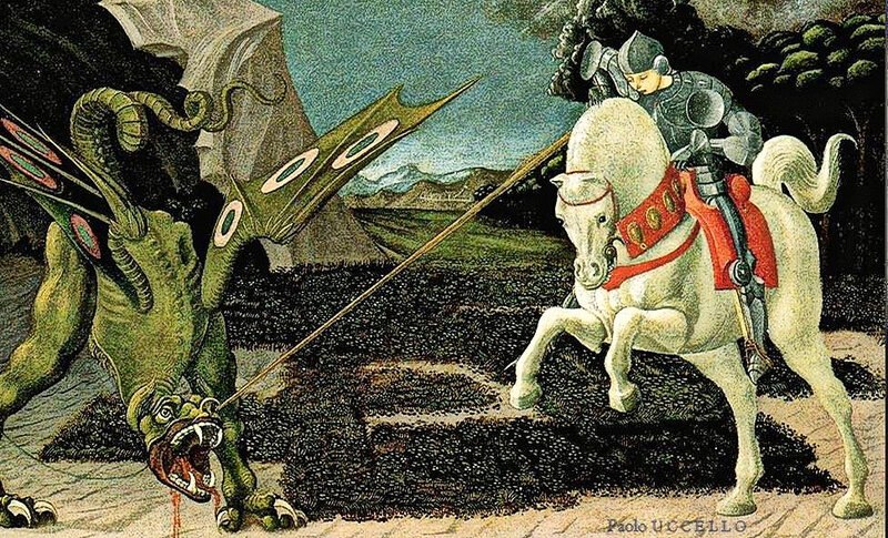 st georges Uccello