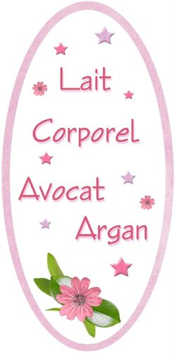 Lait corporel Argan-Avocat