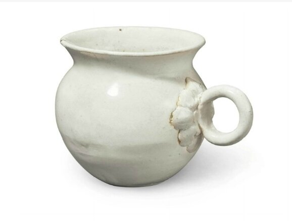 A small Northern white ware cup, China, Late Tang dynasty, 9th-10th century