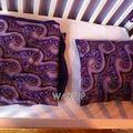 Une couverture doublée de polaire et une taie d'oreiller pour pupuce!