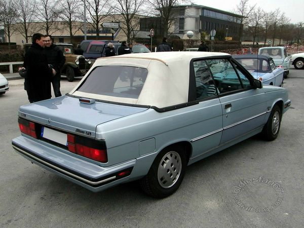 renault alliance cabriolet 1985 1987 4