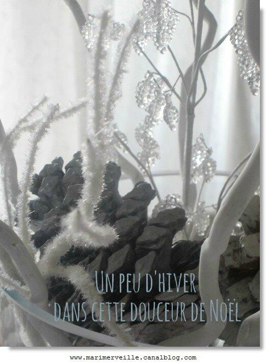 Décoration hivernale Noël - Marimerveille