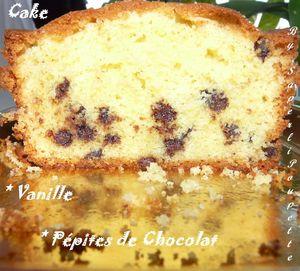 Cake Vanille Pépites de ChocolatJPG