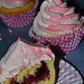 Cupcakes aux fruits rouges