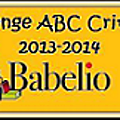 challenge ABC Babelio 2013