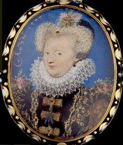 Marguerite de Valois par Hilliard