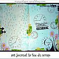 Art journal la fée du scrap