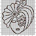 Masque contours