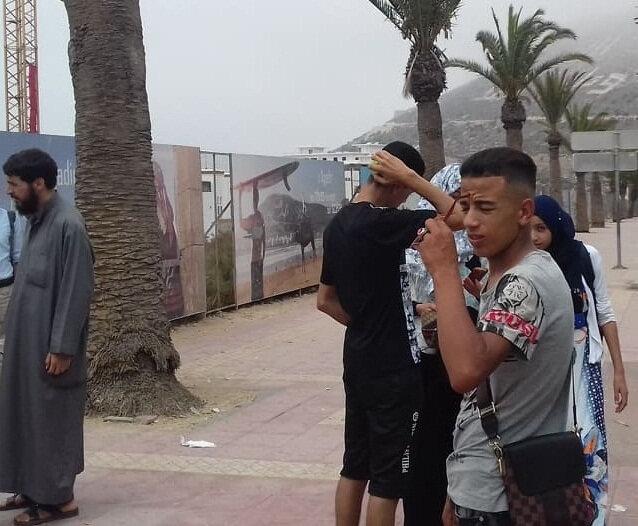 Mohamed de l'association - Bader
