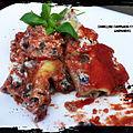 Cannellonis champignons et ricotta ( 565 cal/ par personne)