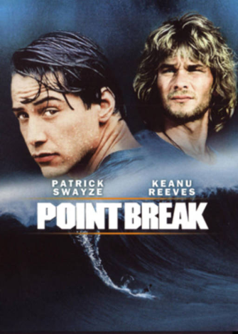 Patrick Swayze : retrouvez le dans « Point Break »