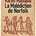 La malédiction du norfolk - karen maitland