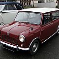 Austin mini 850 estate-1962