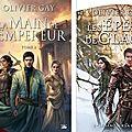 Les épées de glace, deux tomes, d'olivier gay