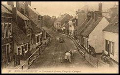 Coupe des voiturettes 1910 - Traversée de Desvres