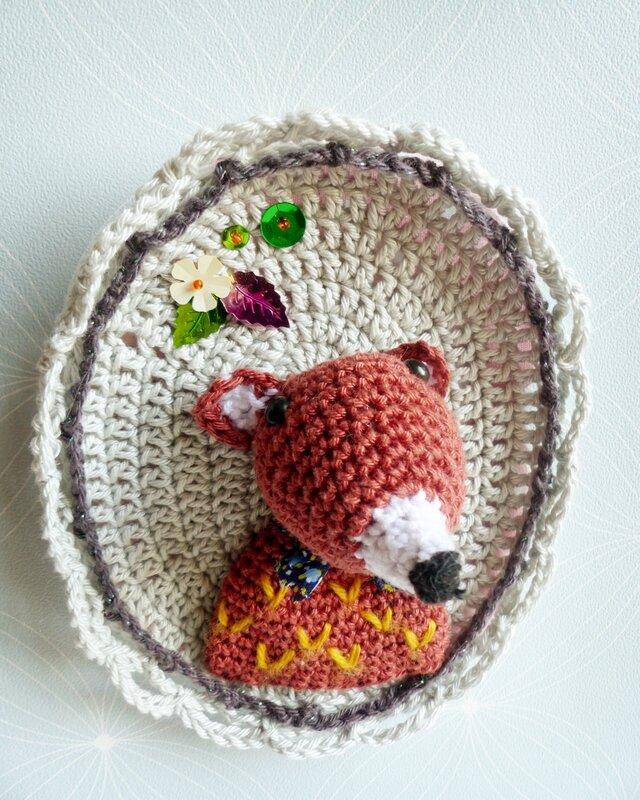 cadre-portrait-renard-tournicote-tendre-crochet-goupil