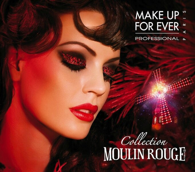 make up for ever moulin rouge 1