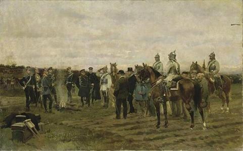 Detaille, les otages 1878
