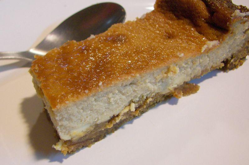 Cheescake au miel